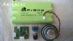 Accu NiMh 2000mA/h avec module de charge